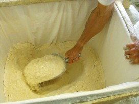 freshly milled flour